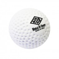 WOS Dimple Hockey Ball - White
