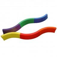 Curved PVC Balance Beam (12...
