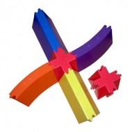 PVC Balance Beam Joint