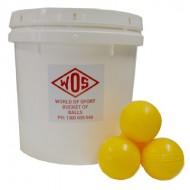 Bucket of 25 Oz Cricket Balls