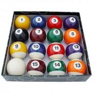 """Kelly Pool Balls Set - 2"""""""