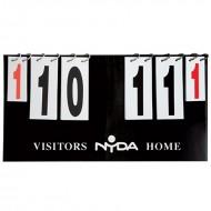 NYDA Scoreboard Flip Over...