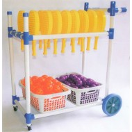 PVC Racquet Master Cart