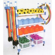 Playground Cart with Baskets