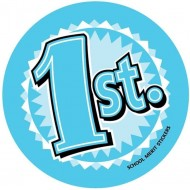 65mm Place Stickers - (x80)
