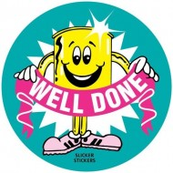 """Stickers - """"Well Done"""" (x50)"""