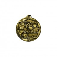 Swimming 45mm Medal Gold