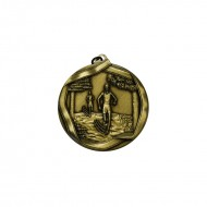 Cross Country 45mm Medal