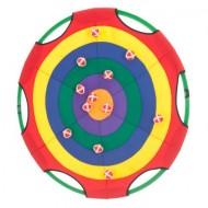 NYDA Hoop Target with 12 Balls