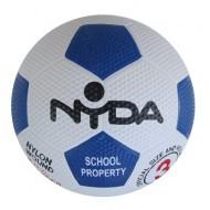 NYDA Rubber Nylon Soccer Ball