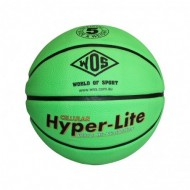 WOS Green Basketball Size 5
