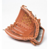 """WOS 11"""" Glove Leather Palm"""