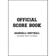 Baseball Softball Scorebook