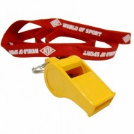 WOS Plastic Whistle and...